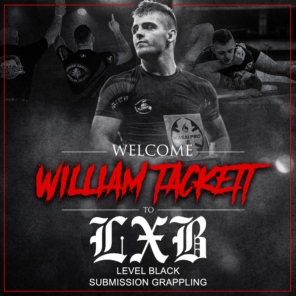 Level Black signs new athlete William Tackett