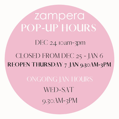 Pop-up opening hours