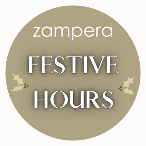 Shop Zampera festive hours