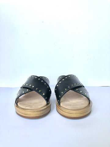 Maypol studded slide black