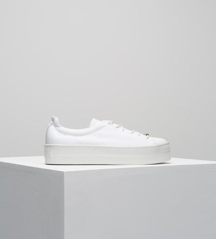 D.O.F Belmont white sneakers