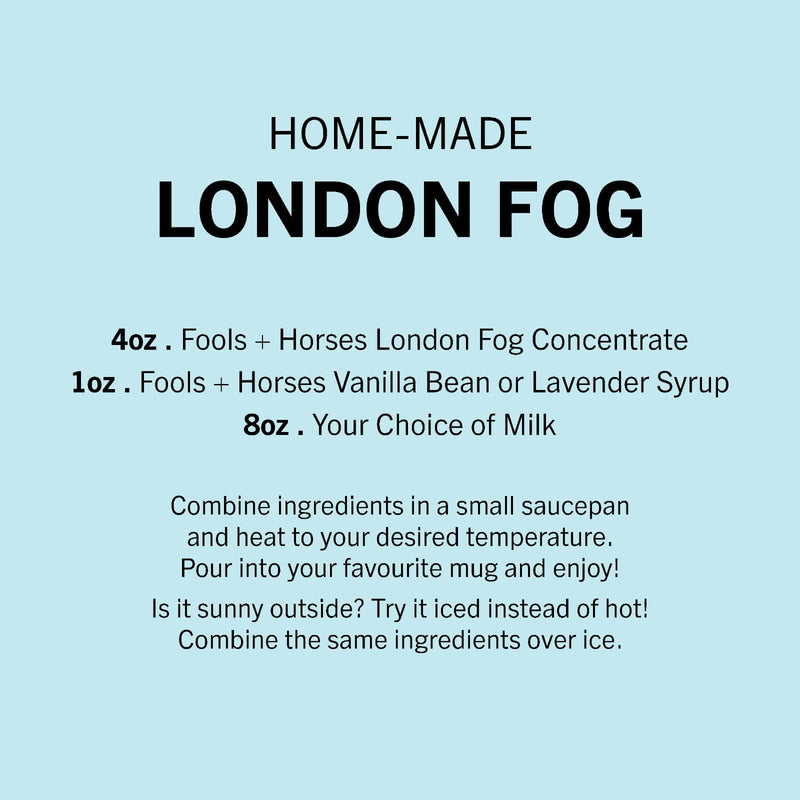 32oz F&H London Fog Concentrate