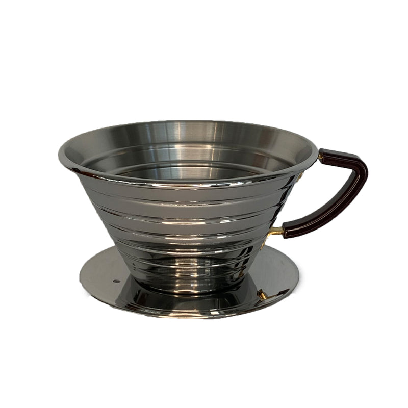 Kalita Wave 185 Dripper - Stainless Steel