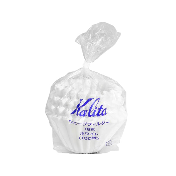 Kalita Wave 185 White Filters - 100 Pack