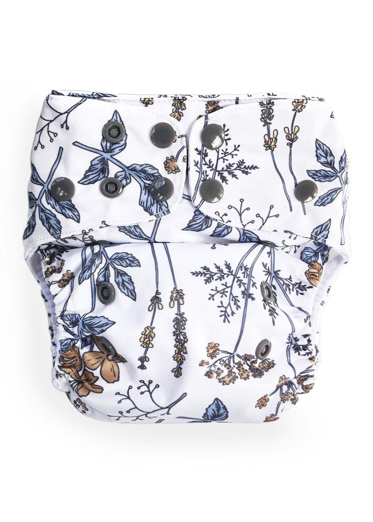 Modern Cloth Nappy // Vintage Botanicals