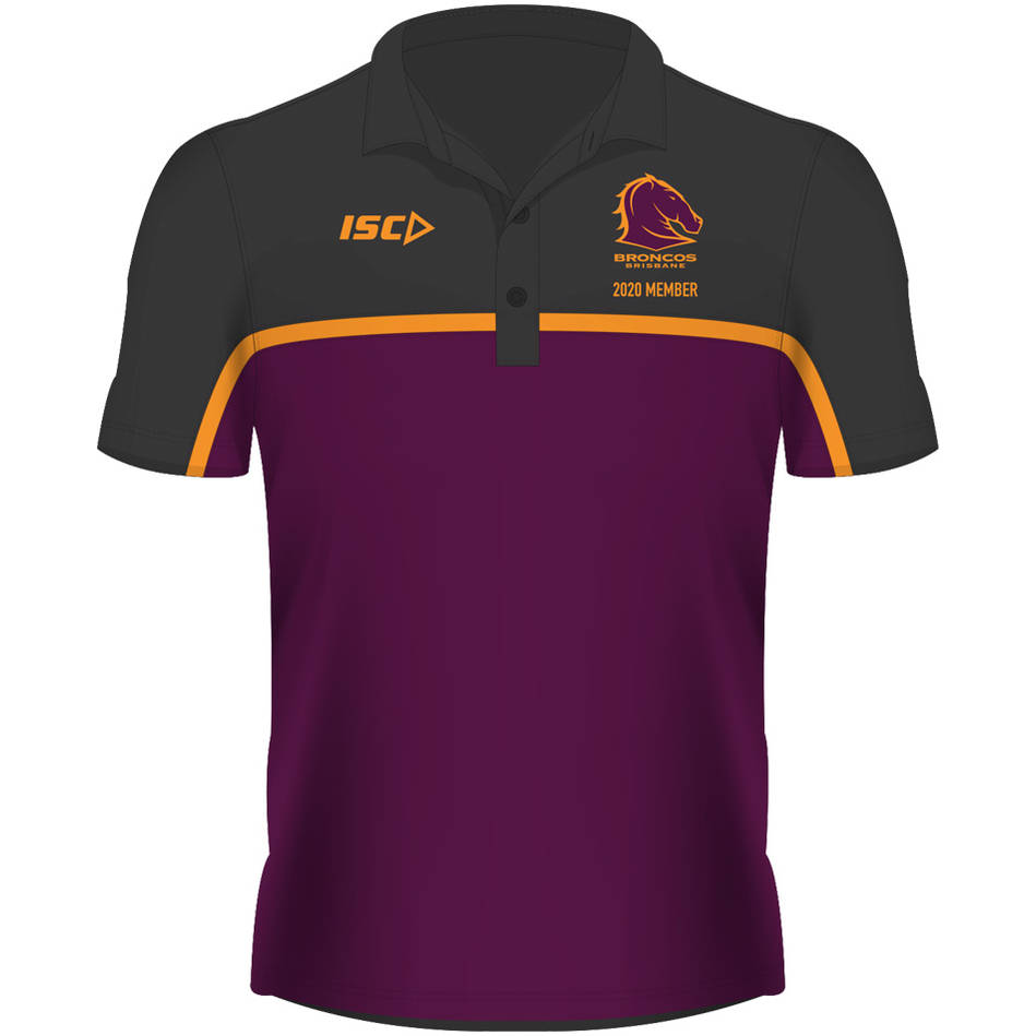 Brisbane Broncos Members Polo 2020