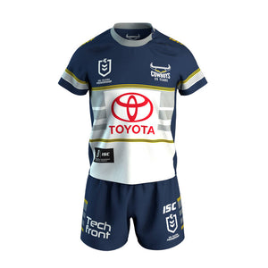 North Queensland Cowboys Toddler Home Jersey Set 2020