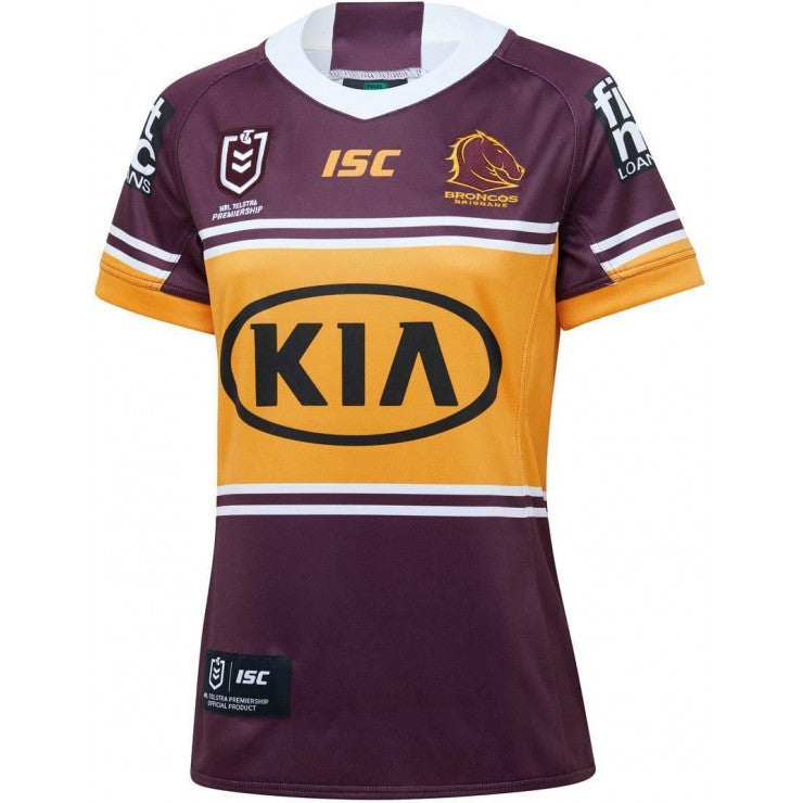 Brisbane Broncos Home Jersey Womens 2020