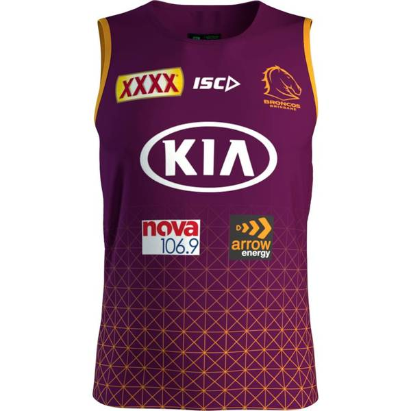 Brisbane Broncos Training Singlet-2020