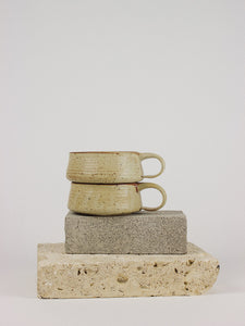Speckled Stoneware Soup Mug Set