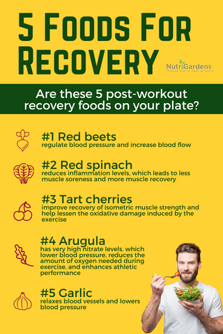 Increase Health With Foods That Boost Nitric Oxide Levels | recovery | NO boost | NutriGardens
