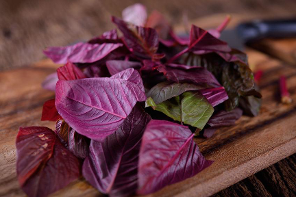 Should athletes eat red spinach?