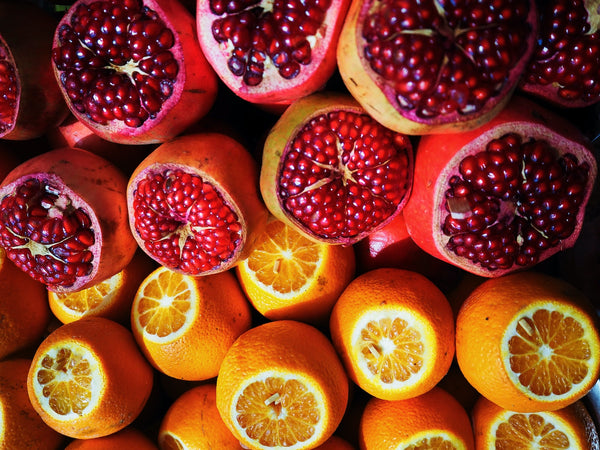 How much nitrate is in pomegranate juice?