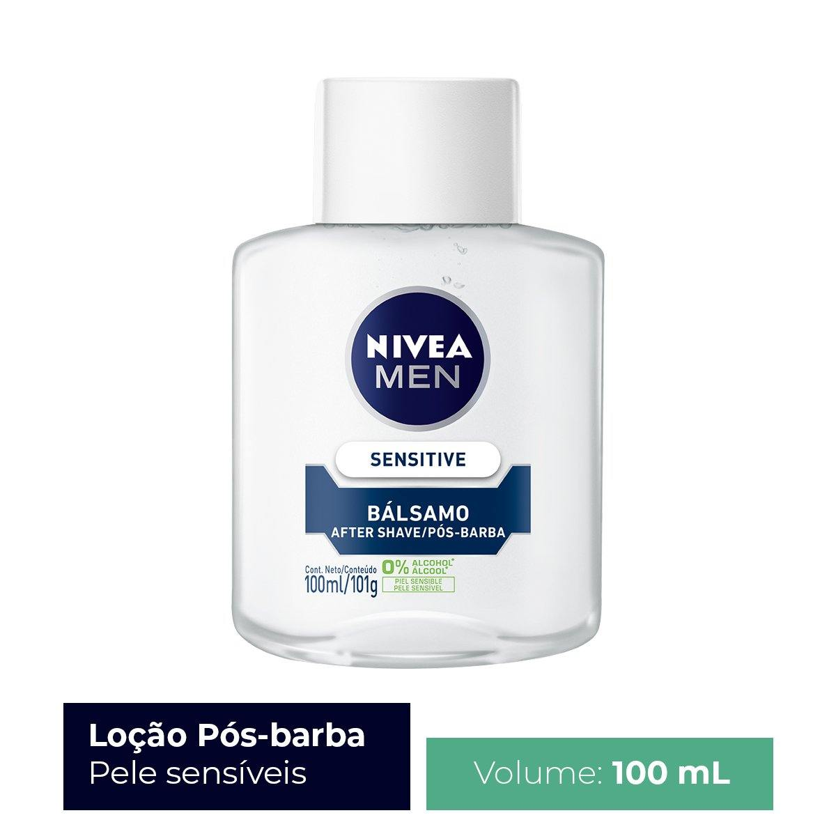 Loção Pós Barba Nivea for Men Sensitive 100ml