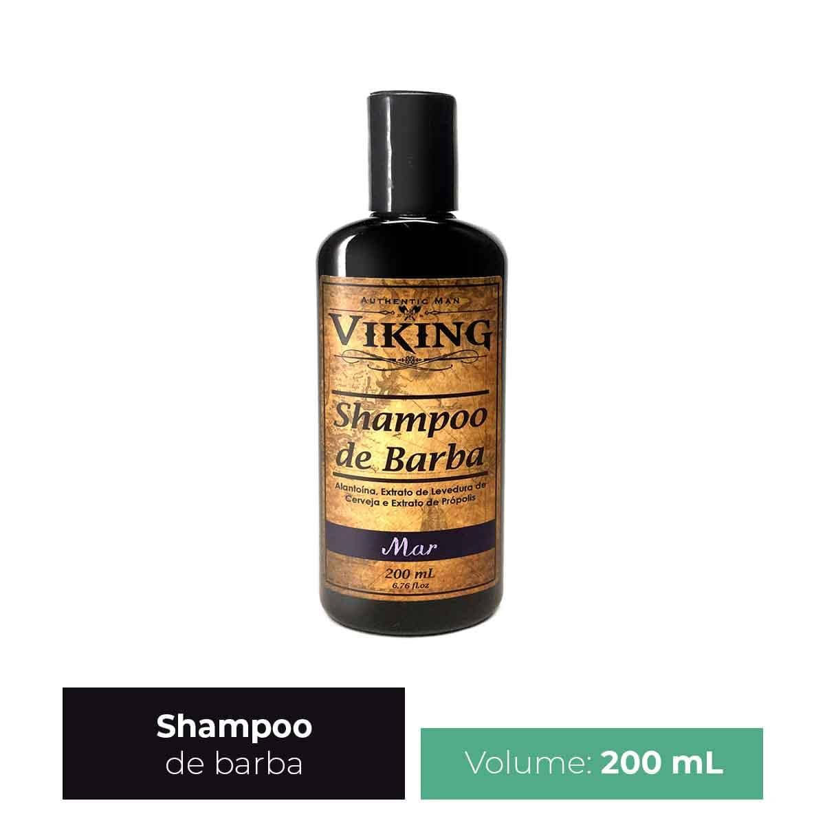 Shampoo de Barba Mar Viking 200 ml