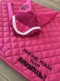 Customised Saddle Pad - Funky Filly