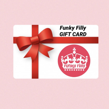 FUNKY FILLY GIFT CARD - Funky Filly