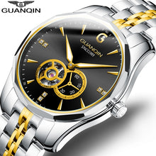Load image into Gallery viewer, GUANQIN Design Brand Luxury Men Watches