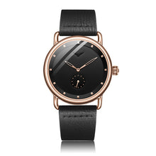 Load image into Gallery viewer, ONOLA quartz wristwatch simple waterproof leather man's watch Luxury watches