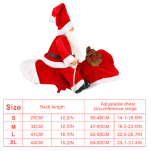 Load image into Gallery viewer, Cute Santa Claus Shaped Coat