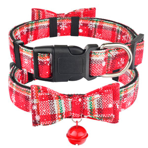 Christmas Dog Collar & Bell