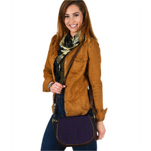 Load image into Gallery viewer, The Shufflez - Saddle Bag (Black with Purple) - trendybyjoey,.com