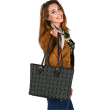 Load image into Gallery viewer, The Shufflez Black Leather Hand Bag - trendybyjoey,.com