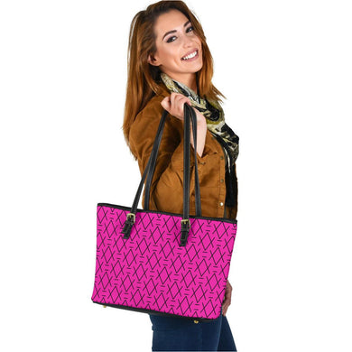 Glass Ceiling in Dragon Fruit Tote - trendybyjoey,.com