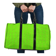 Load image into Gallery viewer, The Shufflez Travel Bag (Neon Green & Dragon Fruit PInk) - trendybyjoey,.com