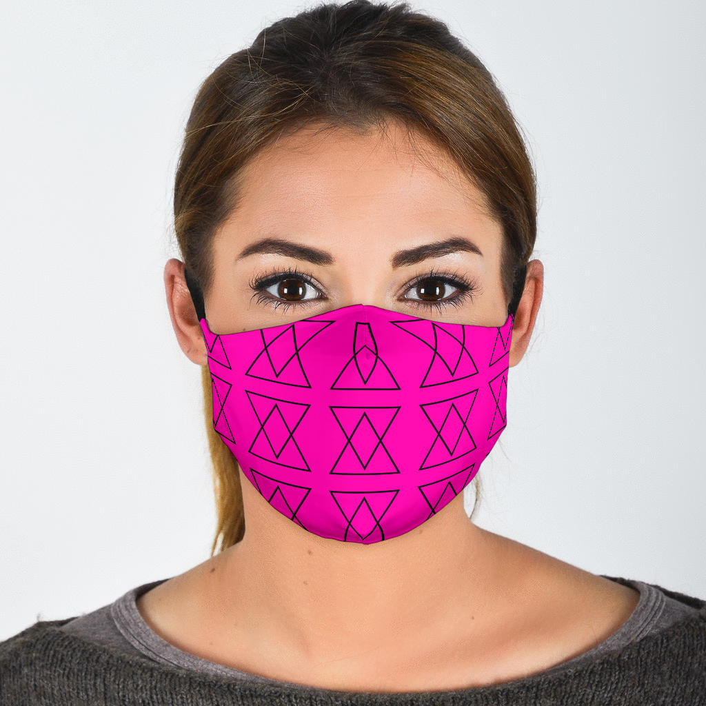 The Shufflez Dragon Fruit Mask w/ Filter (BLK) - trendybyjoey,.com