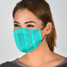 Load image into Gallery viewer, The Shufflez Premium Face Mask (Ice & Fire) - trendybyjoey,.com