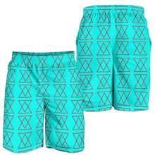 Load image into Gallery viewer, The Shufflez Men's Shorts (Ice & Fire) - trendybyjoey,.com