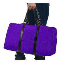 Load image into Gallery viewer, The Shufflez - Travel Bag (Purple with Black) - trendybyjoey,.com