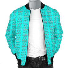 Load image into Gallery viewer, The Shufflez Bomber Jacket (Ice & Fire) - trendybyjoey,.com
