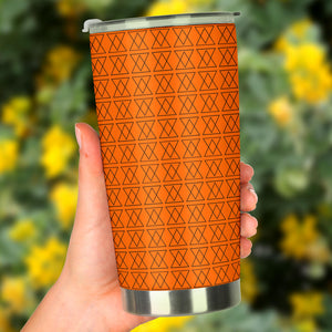The Shufflez - Tumbler (Orange with Black) - trendybyjoey,.com