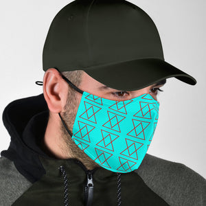 The Shufflez Premium Face Mask (Ice & Fire) - trendybyjoey,.com