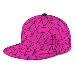 Glass Ceiling in Dragon Fruit Snap back - trendybyjoey,.com