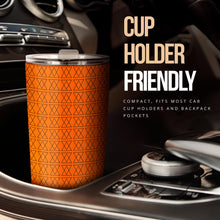 Load image into Gallery viewer, The Shufflez - Tumbler (Orange with Black) - trendybyjoey,.com