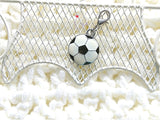 "NEW! CLP46 ""Love Soccer"" Clip-ABLE Merry Charm"