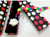 "CRO02 ""Over the Happy Rainbow"" 3D Crochet Merry Charm Charming Bookmark Set"