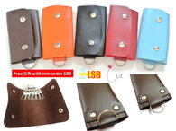 [Min Order $80 FREE GIFT] WFG04 PU Leather Key Holder