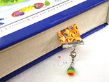 "RBB04 ""Happy Days"" Ribbon Merry Charm Charming Bookmark"