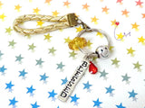 "SP112 ""Blessed""  Merry Charm Key Holder"