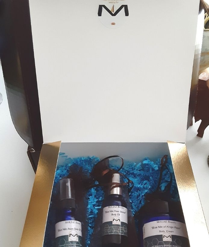 "⭐MOLIAE Beauty Gift Box Kit ""Ankh Ra"" 189.00"