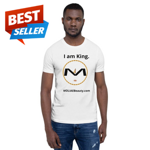 "⭐MOLIAE Beauty ""I am King "" T-Shirt"