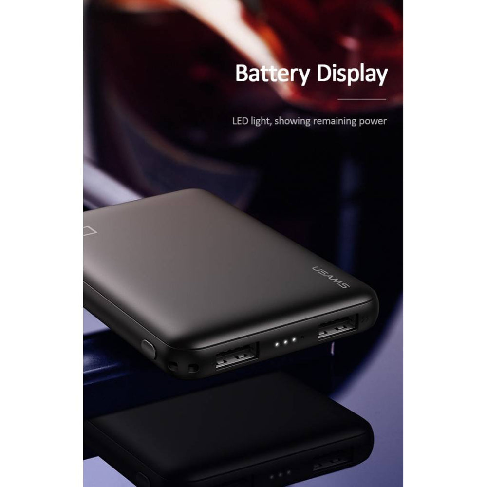 Power Bank 5000mAh | Dual USB | 2.1A | Negro
