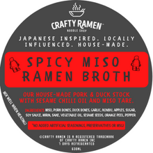 Load image into Gallery viewer, Spicy Miso Ramen Broth