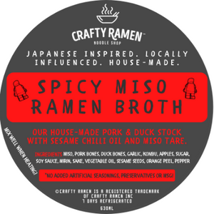 Spicy Miso Ramen Broth