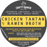 Chicken Tantan Ramen Broth