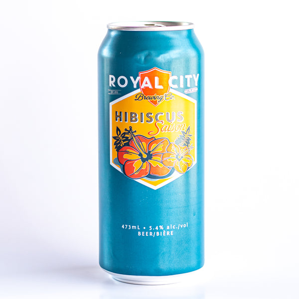 Royal City Hibiscus Saison (HST exc. Deposit inc.)